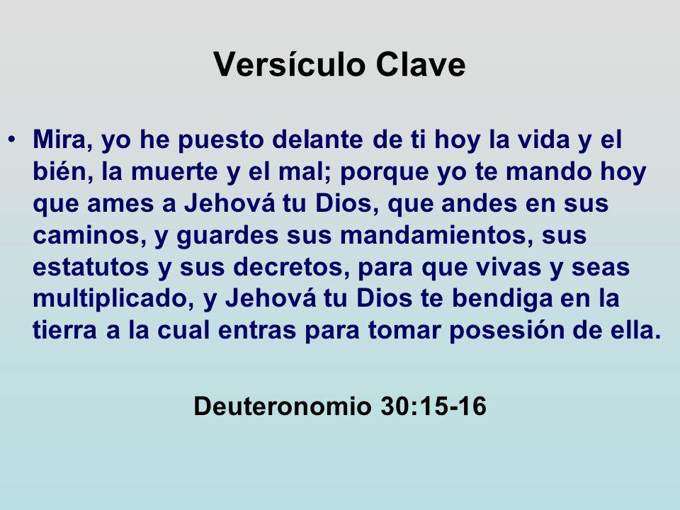 Versículo Clave