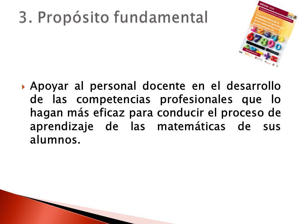 3. Propósito fundamental