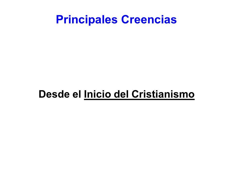 Principales Creencias