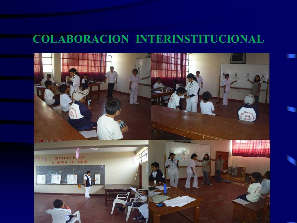 COLABORACION INTERINSTITUCIONAL