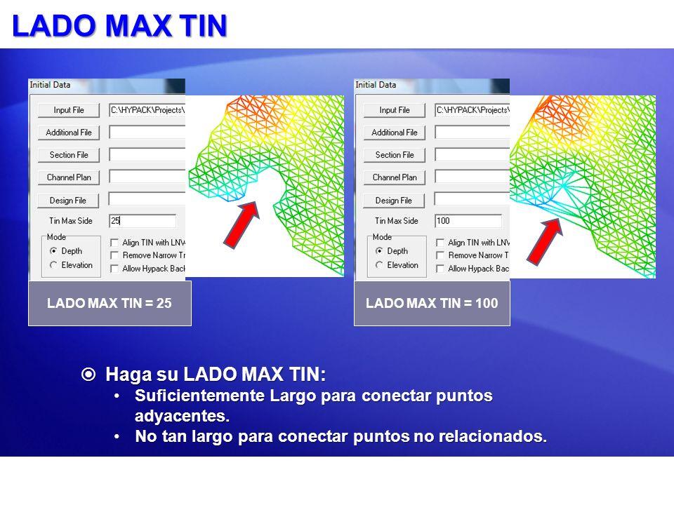 LADO MAX TIN Haga su LADO MAX TIN: