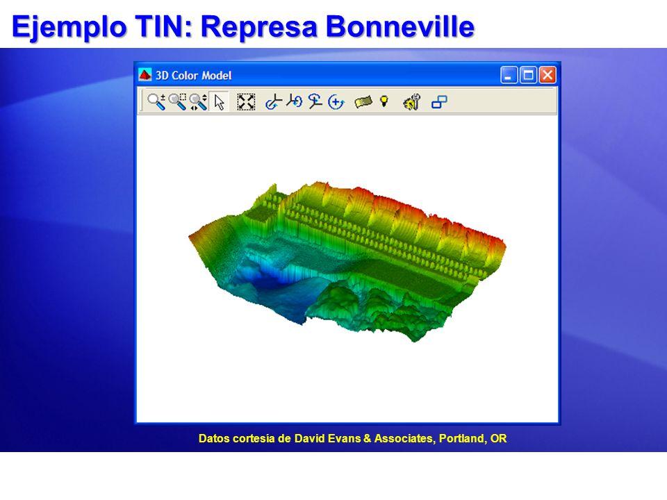 Ejemplo TIN: Represa Bonneville