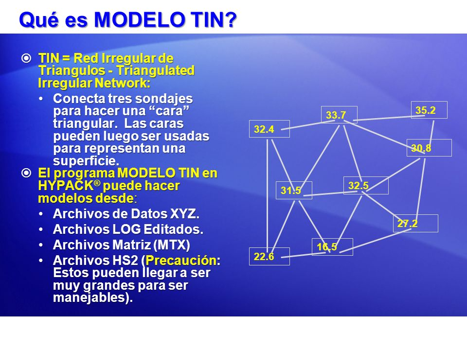 Qué es MODELO TIN TIN = Red Irregular de Triangulos - Triangulated Irregular Network: