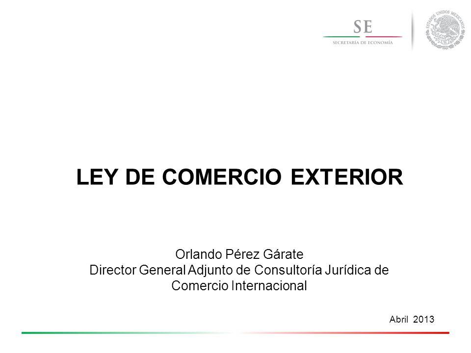 ley de comercio exterior ppt video online descargar