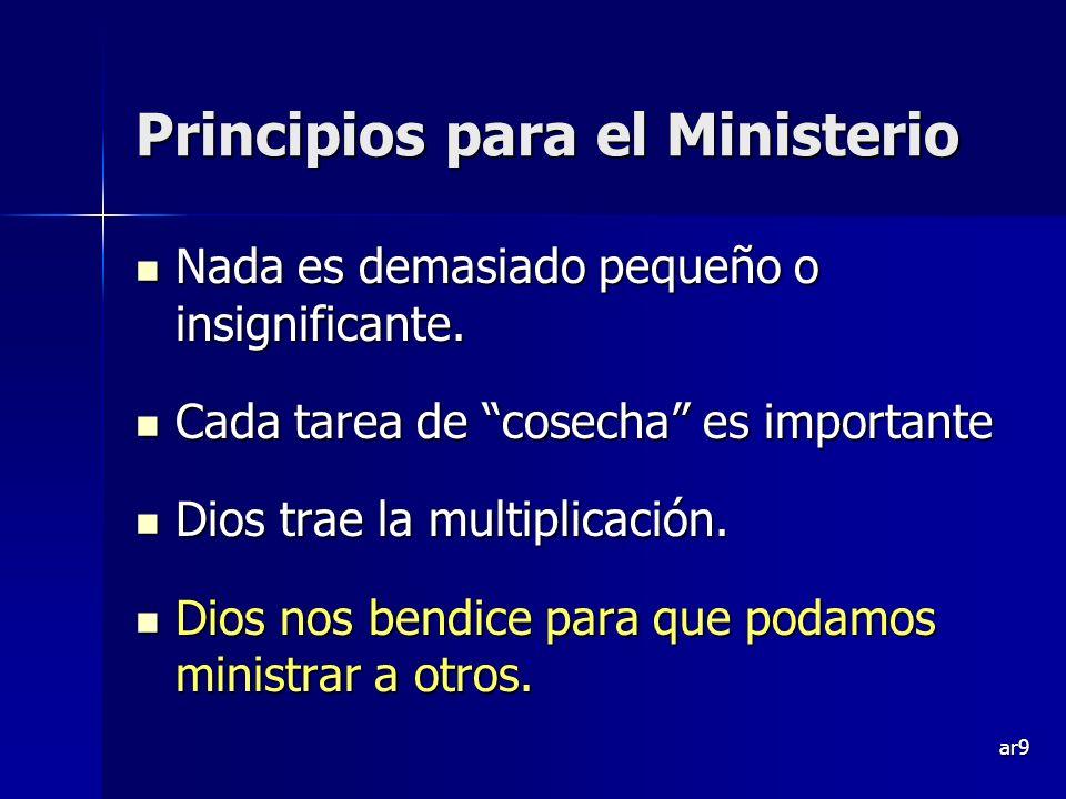 Principios para el Ministerio