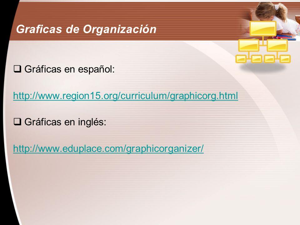 Graficas de Organización