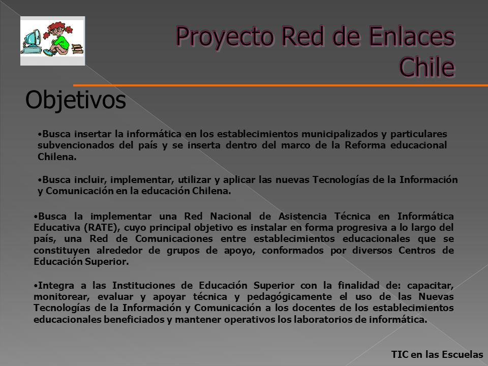 Proyecto Red de Enlaces Chile