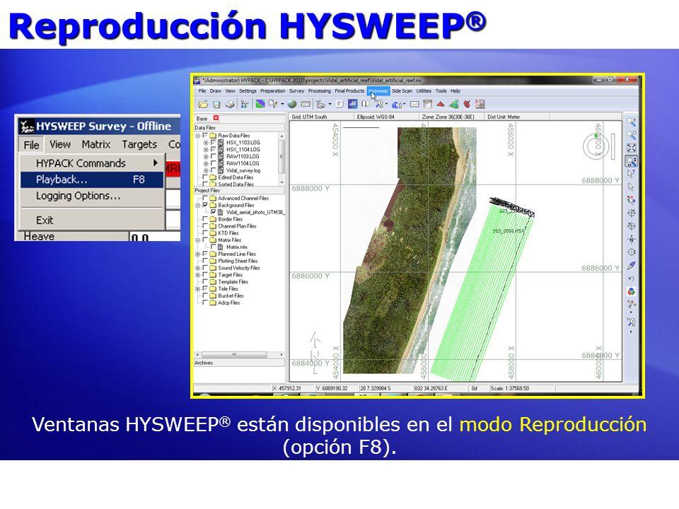 Reproducción HYSWEEP®
