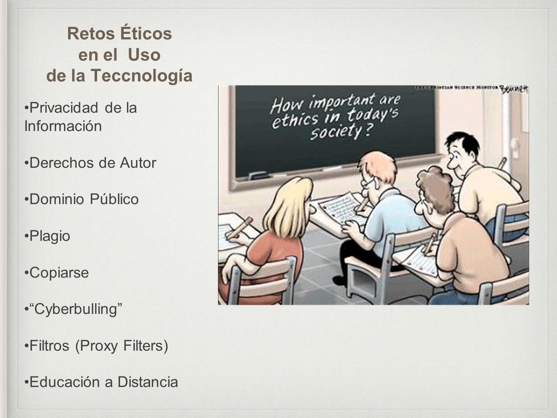 Retos Éticos en el Uso de la Teccnología