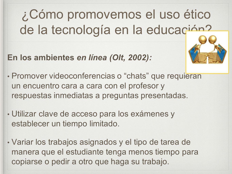 ¿Cómo promovemos el uso ético de la tecnología en la educación