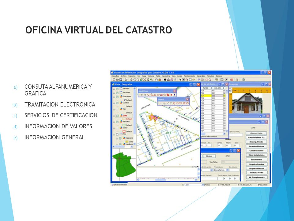 Proyecto catastro nacional de la republica dominicana for Catastro malaga oficina virtual