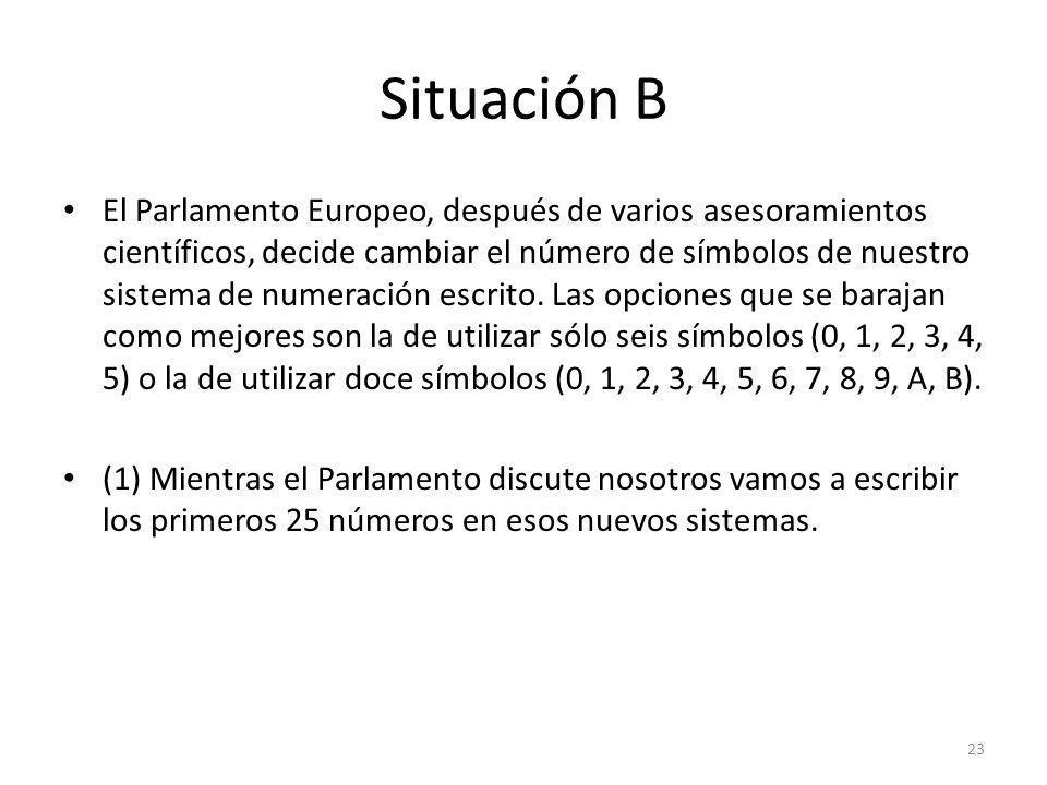 Situación B