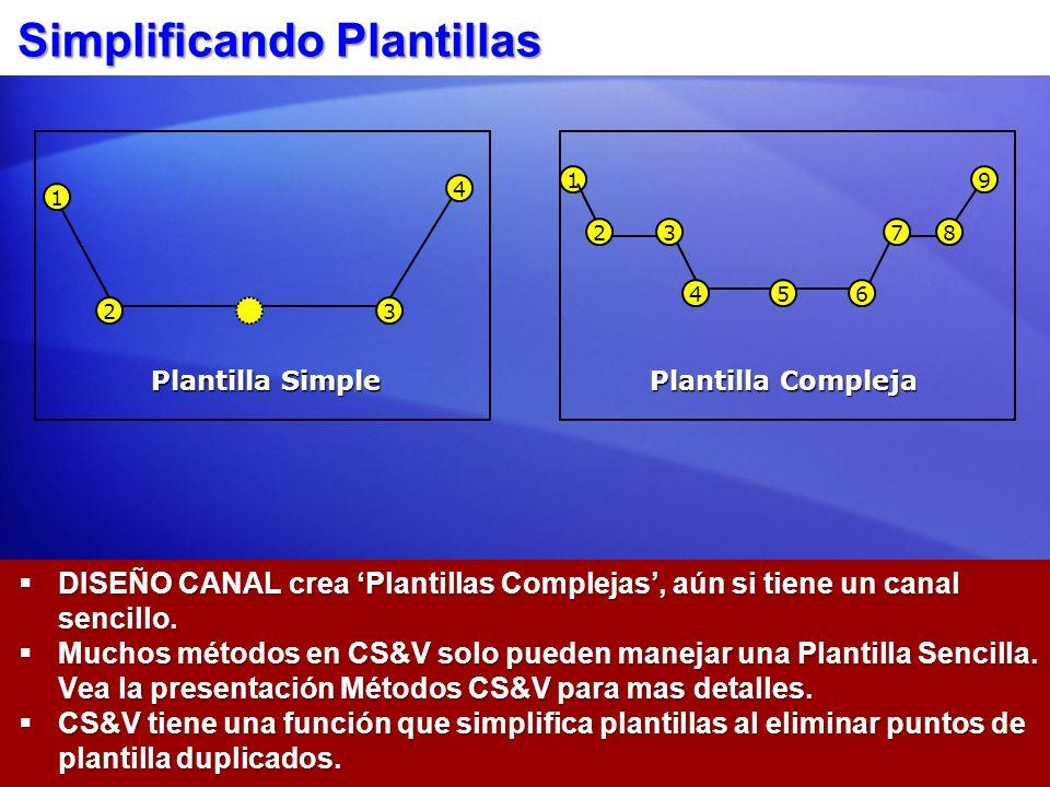Simplificando Plantillas