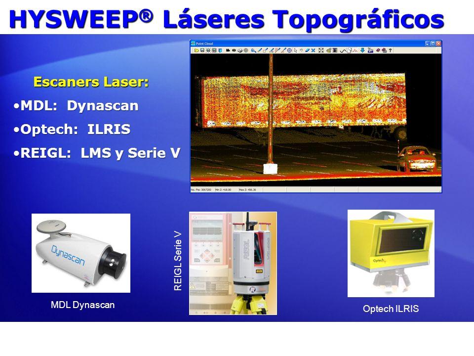 HYSWEEP® Láseres Topográficos