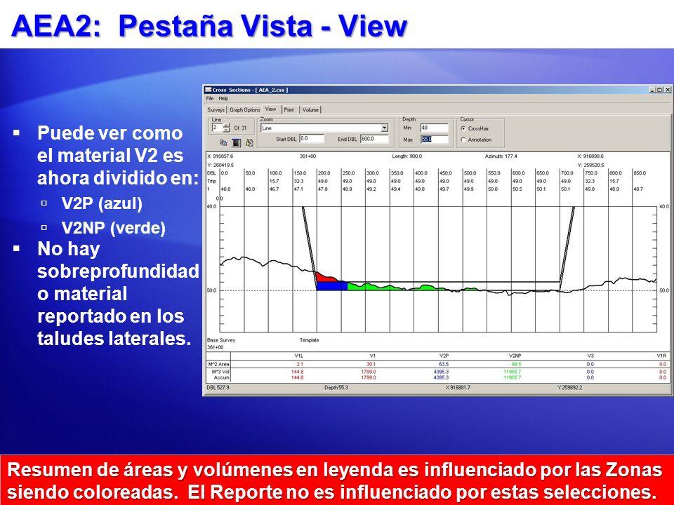 AEA2: Pestaña Vista - View