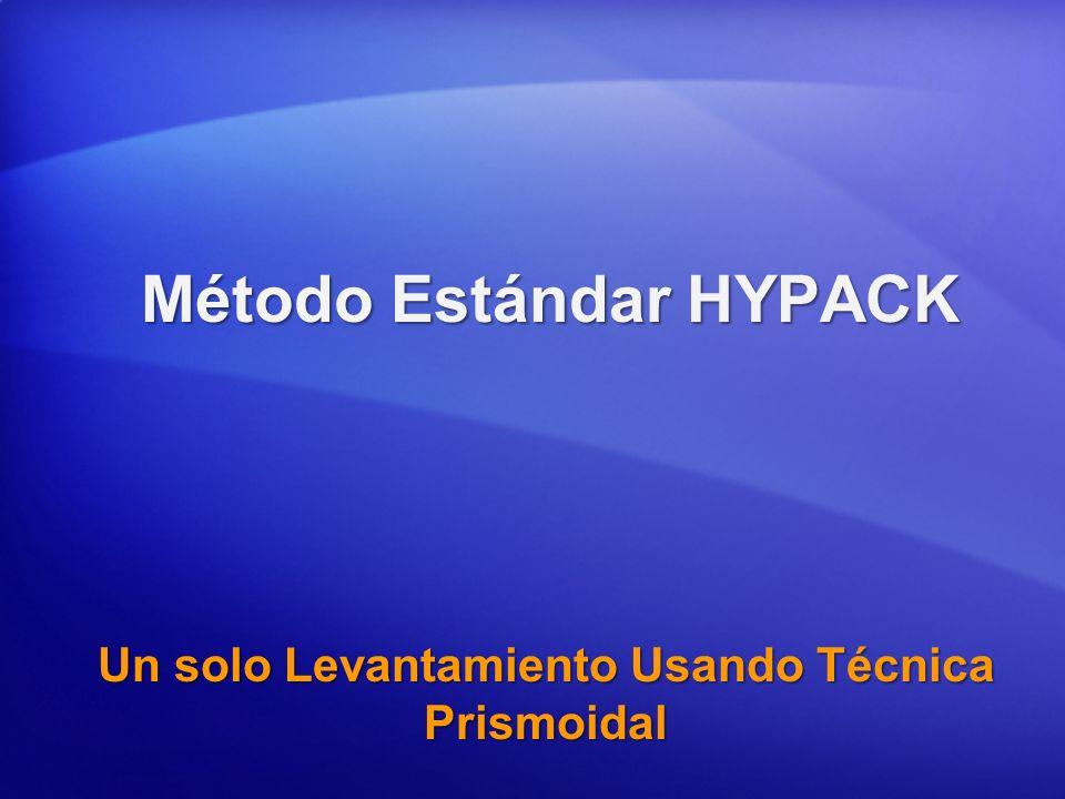 Método Estándar HYPACK