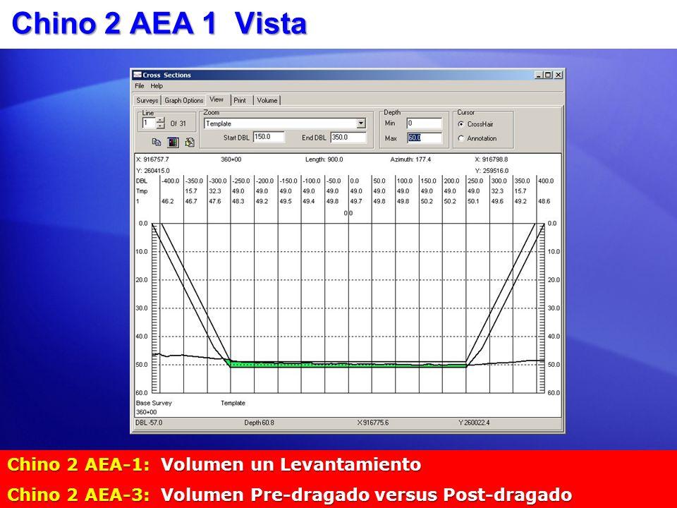 Chino 2 AEA 1 Vista Chino 2 AEA-1: Volumen un Levantamiento