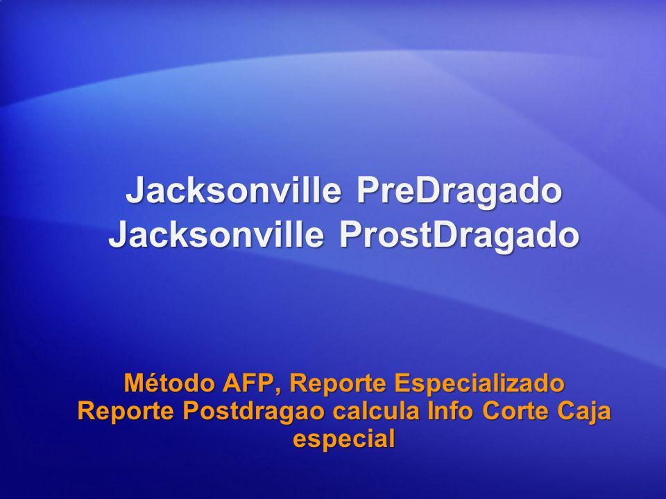 Jacksonville PreDragado Jacksonville ProstDragado