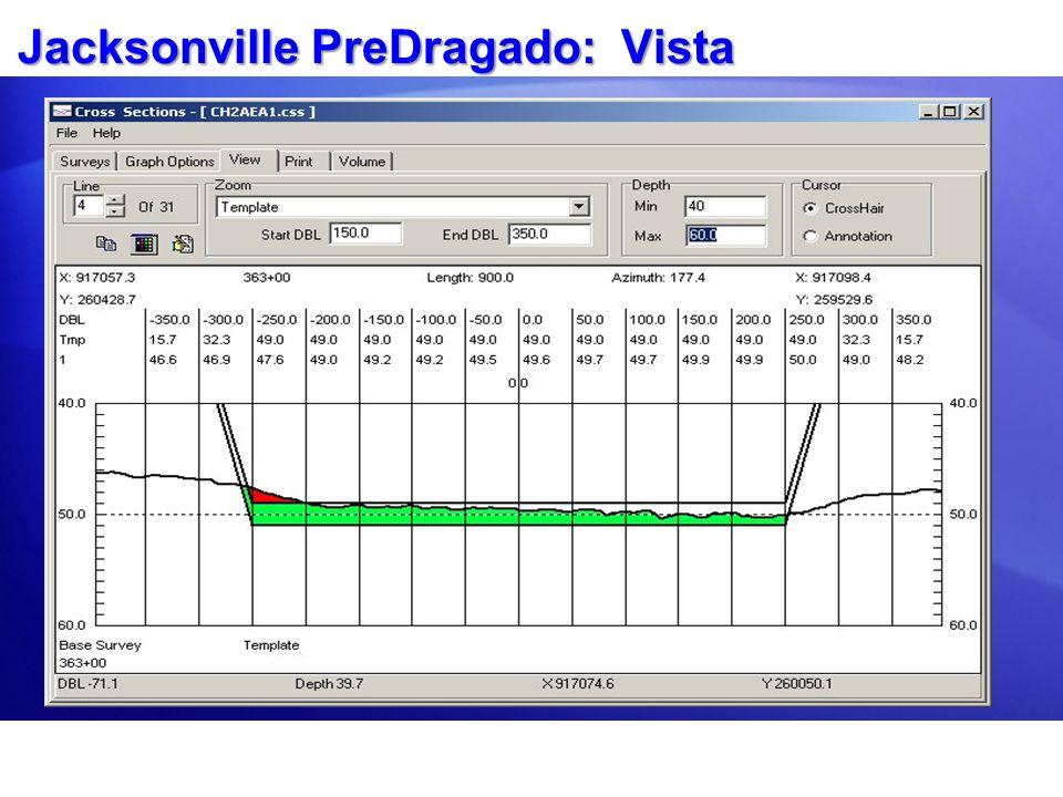 Jacksonville PreDragado: Vista