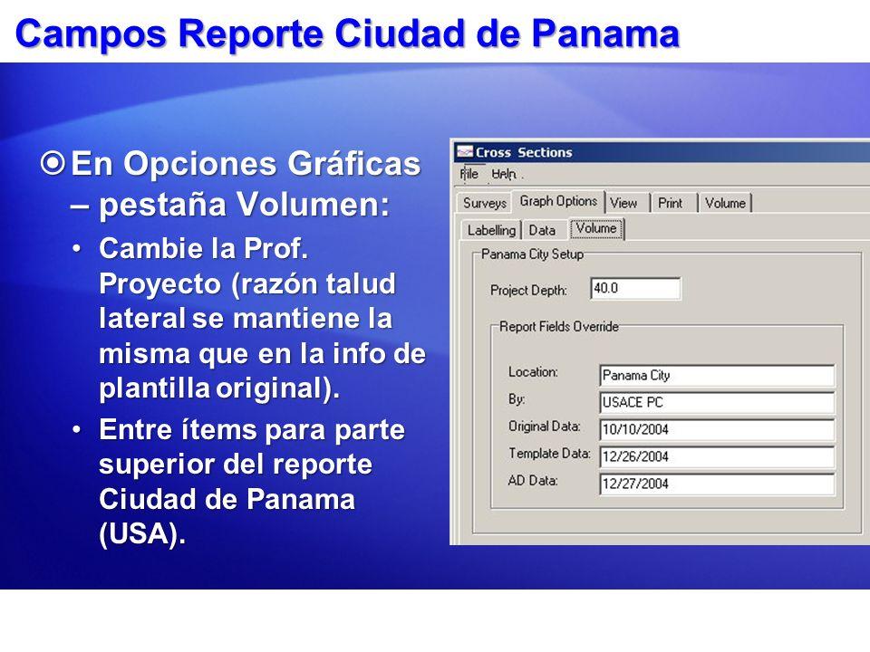 Campos Reporte Ciudad de Panama