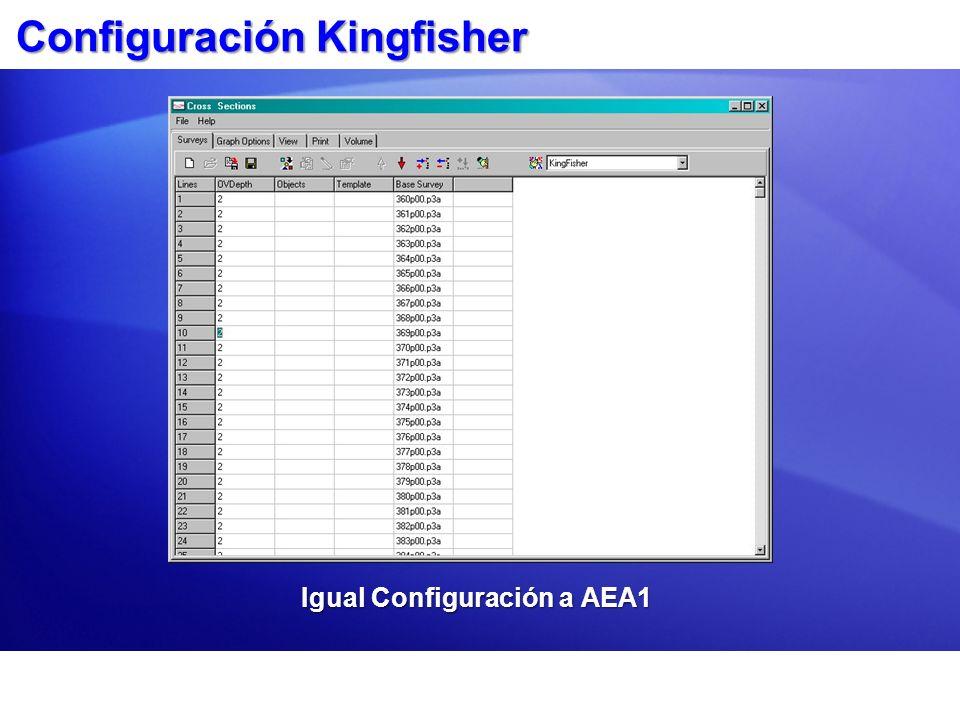 Configuración Kingfisher