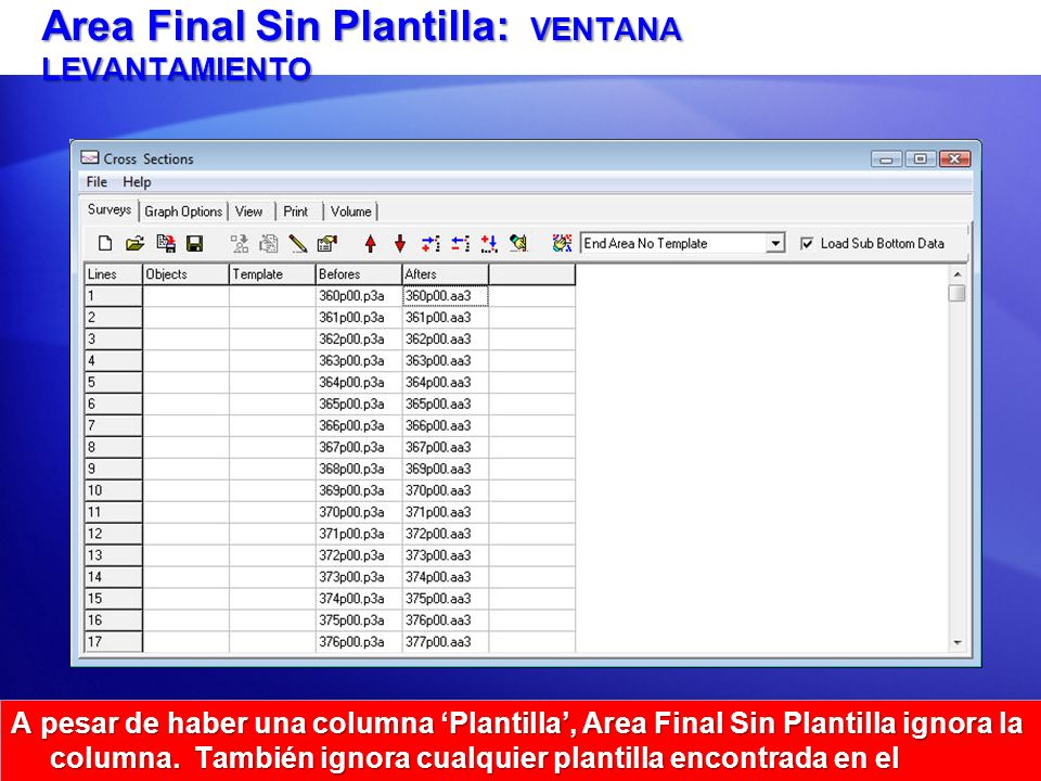 Area Final Sin Plantilla: VENTANA LEVANTAMIENTO