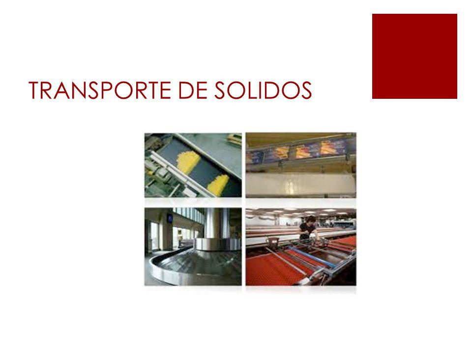 TRANSPORTE DE SOLIDOS