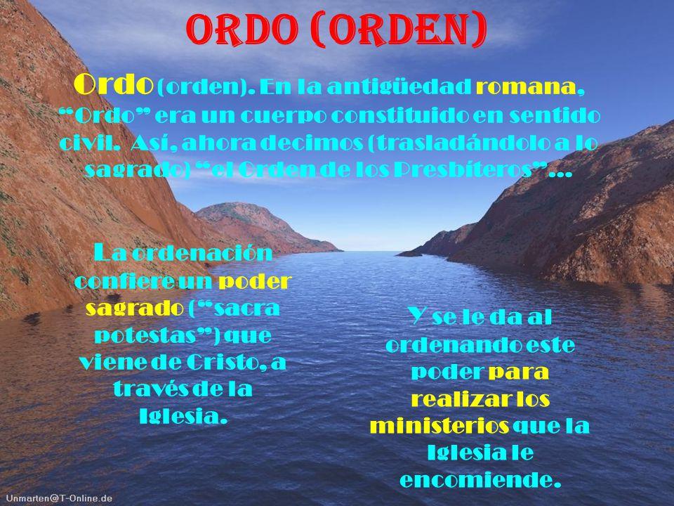 Ordo (ORDEN)