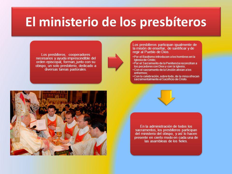 El ministerio de los presbíteros