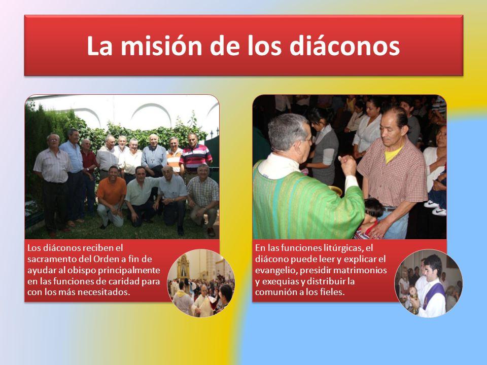 La misión de los diáconos