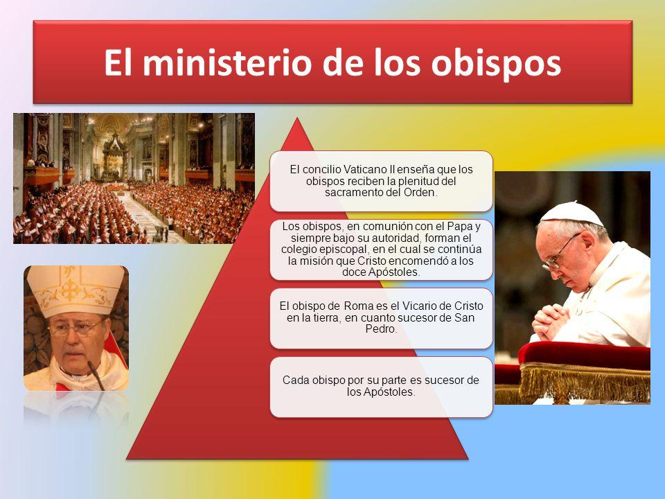 El ministerio de los obispos