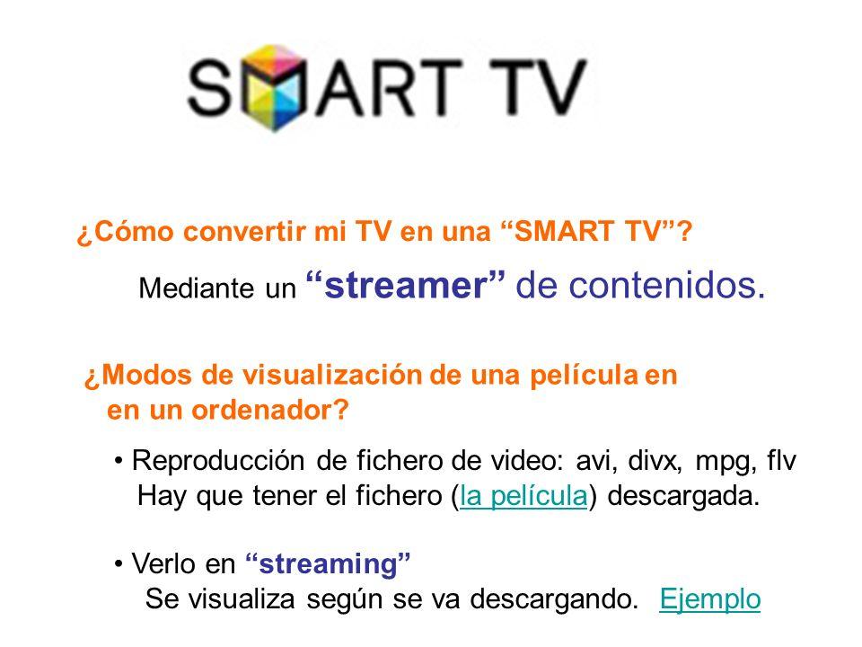 ¿Cómo convertir mi TV en una SMART TV