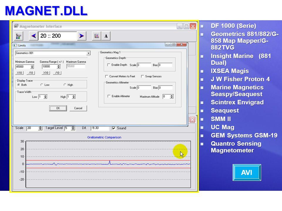MAGNET.DLL AVI DF 1000 (Serie)