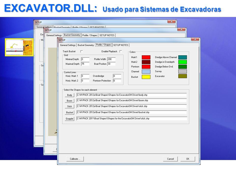 EXCAVATOR.DLL: Usado para Sistemas de Excavadoras