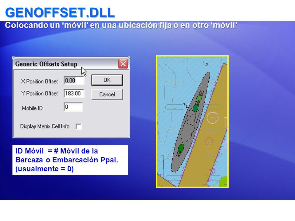 GENOFFSET.DLL Colocando un 'móvil' en una ubicación fija o en otro 'móvil'