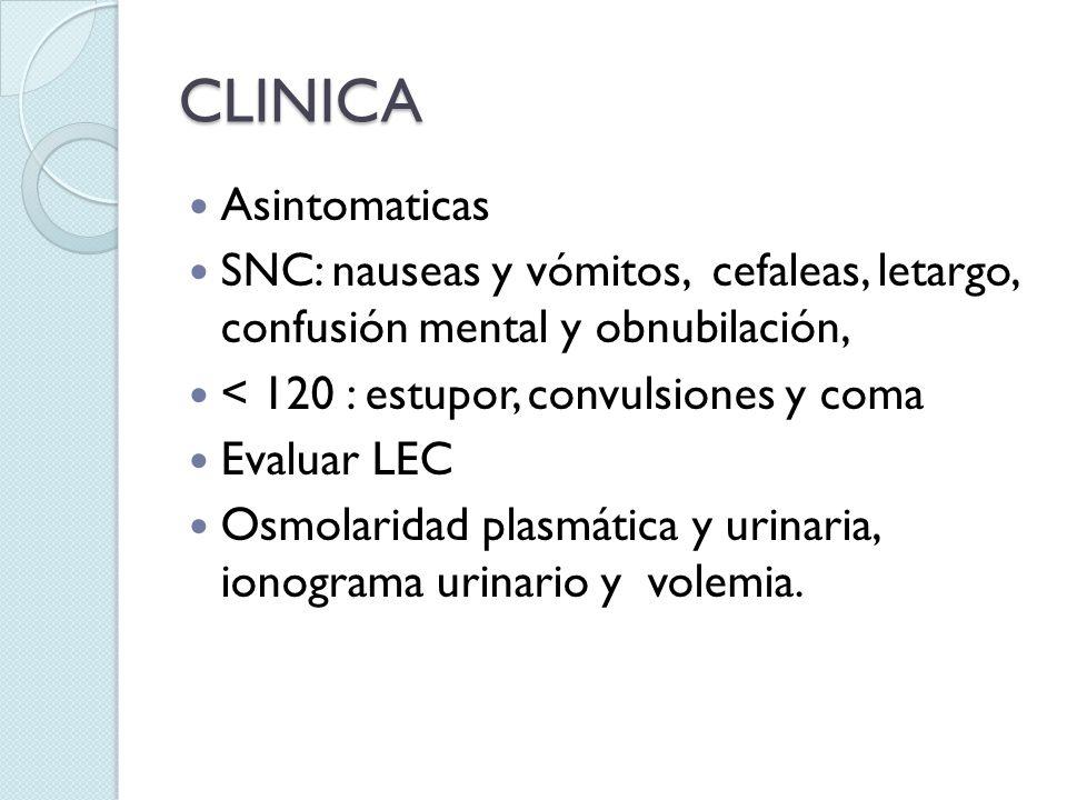 CLINICA Asintomaticas