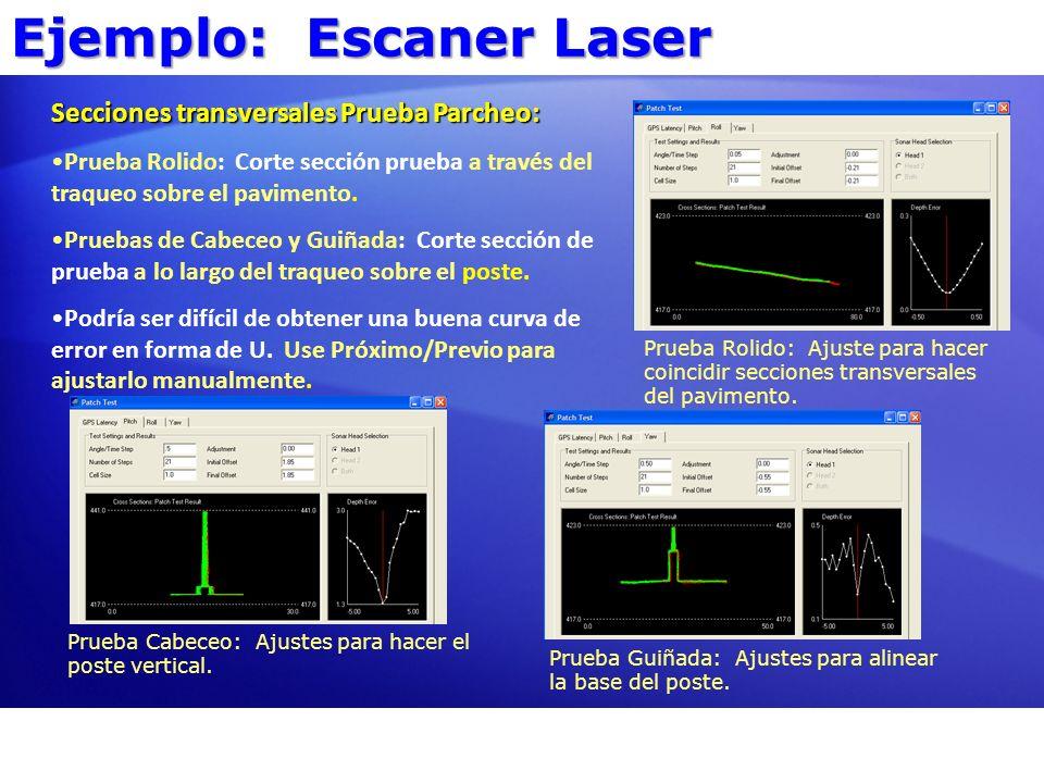 Ejemplo: Escaner Laser