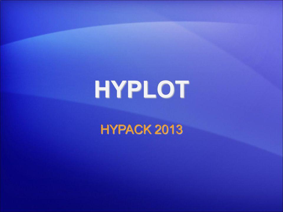 HYPLOT HYPACK 2013 1
