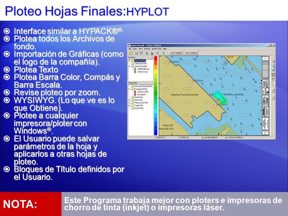 Ploteo Hojas Finales:HYPLOT