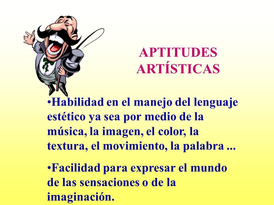APTITUDES ARTÍSTICAS