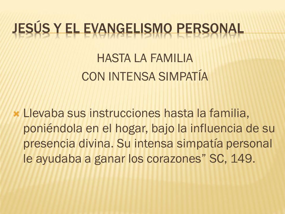 Jesús y el evangelismo personal