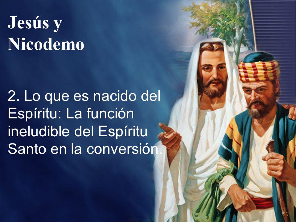 Jesús y Nicodemo 2.