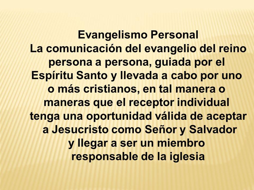 La comunicación del evangelio del reino