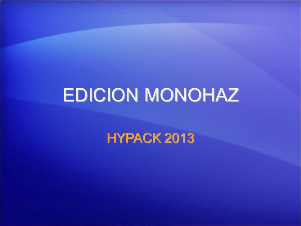 EDICION MONOHAZ HYPACK 2013 1
