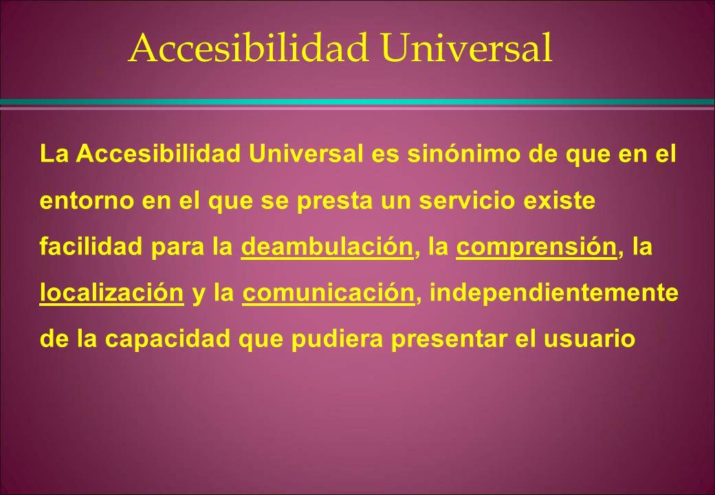 Ley observatorio de la discapacidad ppt descargar for Que es accesibilidad
