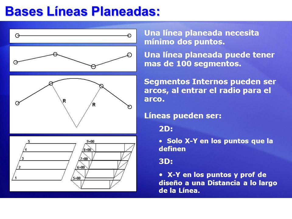 Bases Líneas Planeadas: