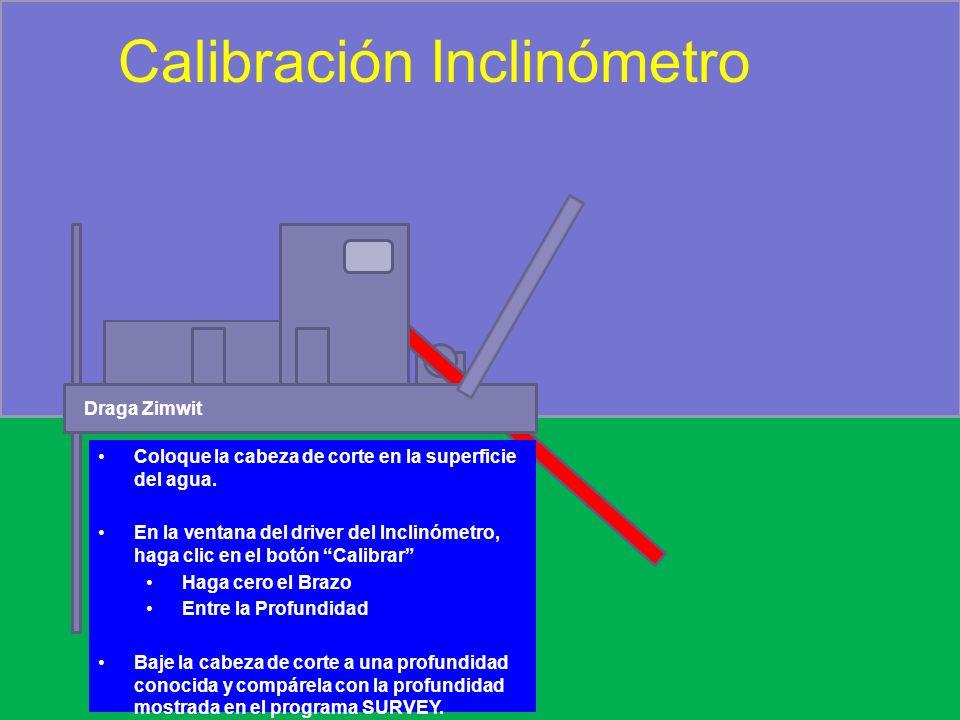 Calibración Inclinómetro