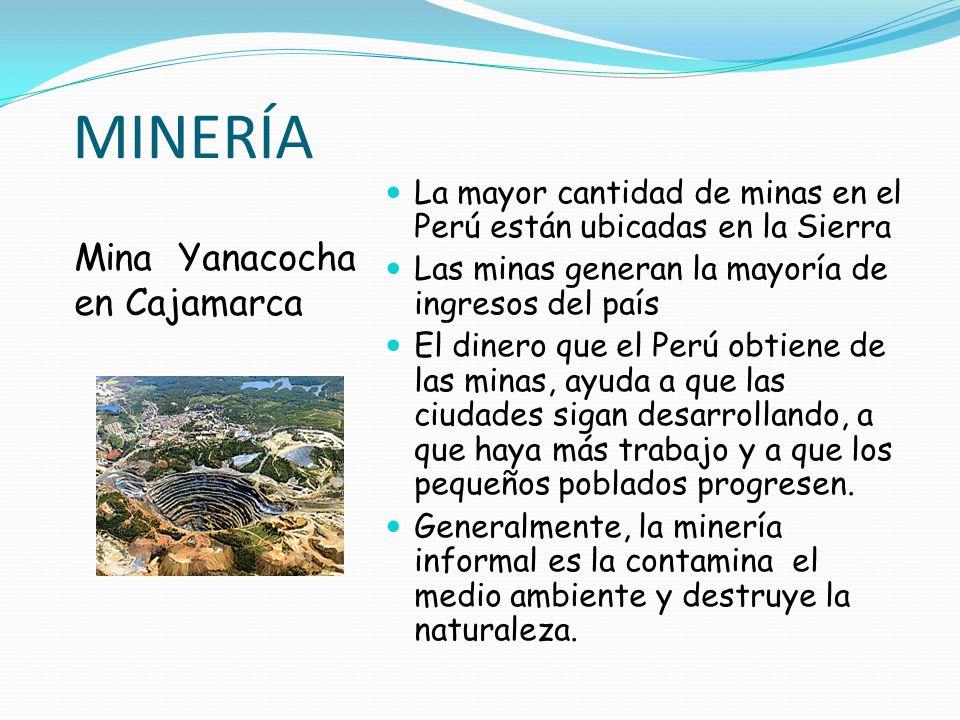 MINERÍA Mina Yanacocha en Cajamarca