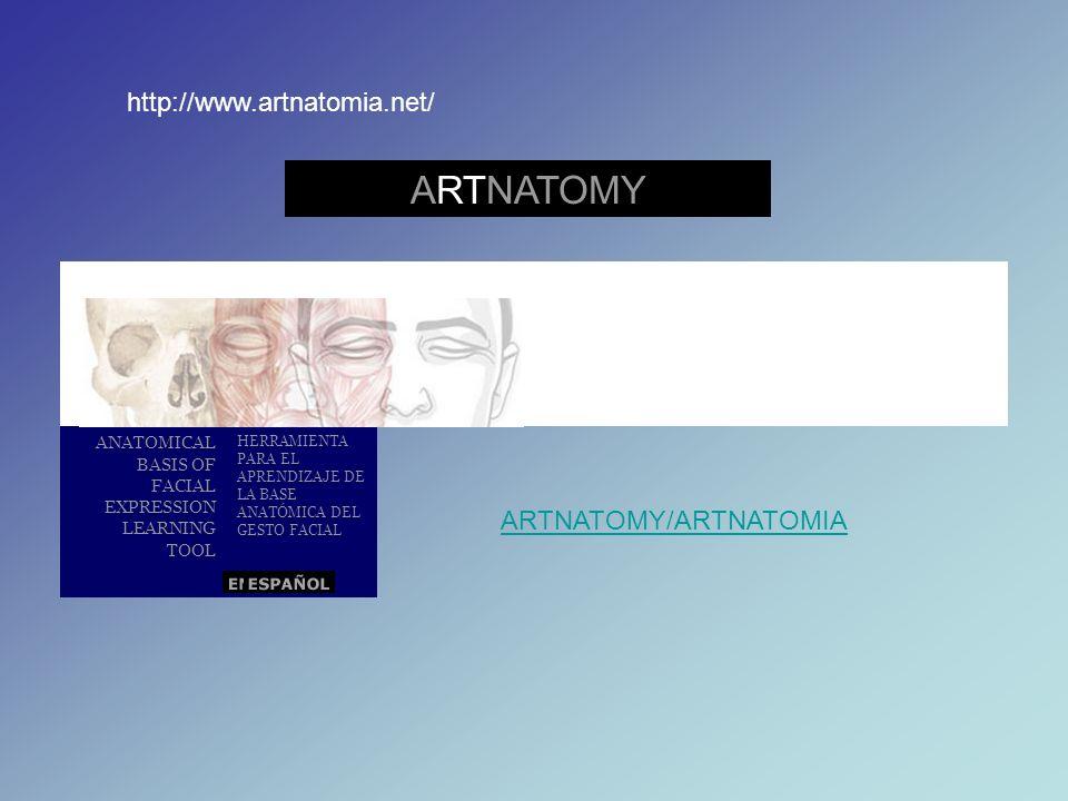 ARTNATOMY http://www.artnatomia.net/ ARTNATOMY/ARTNATOMIA