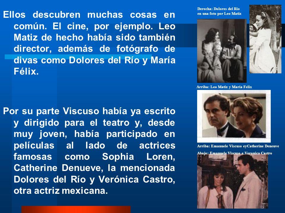 Derecha: Dolores del Rio en una foto por Leo Matiz